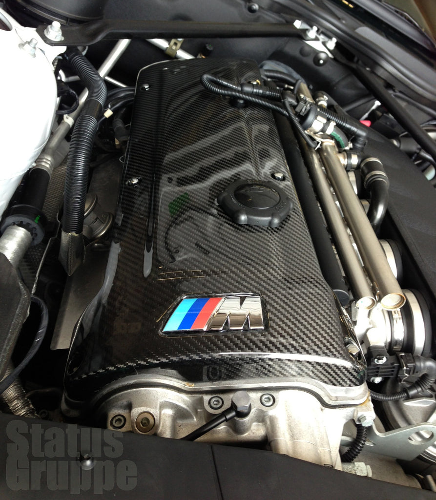 Bmw S54 Carbon Fiber Engine Cover Status Gruppe