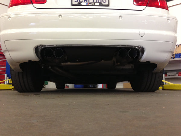 SGT CSL Rear Diffuser 1x1 CF With Paint option Alpine White