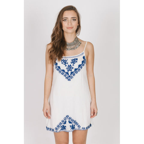 SANTORINI SHORT DRESS - Stylemindchic Boutique - Curated Collections - 1