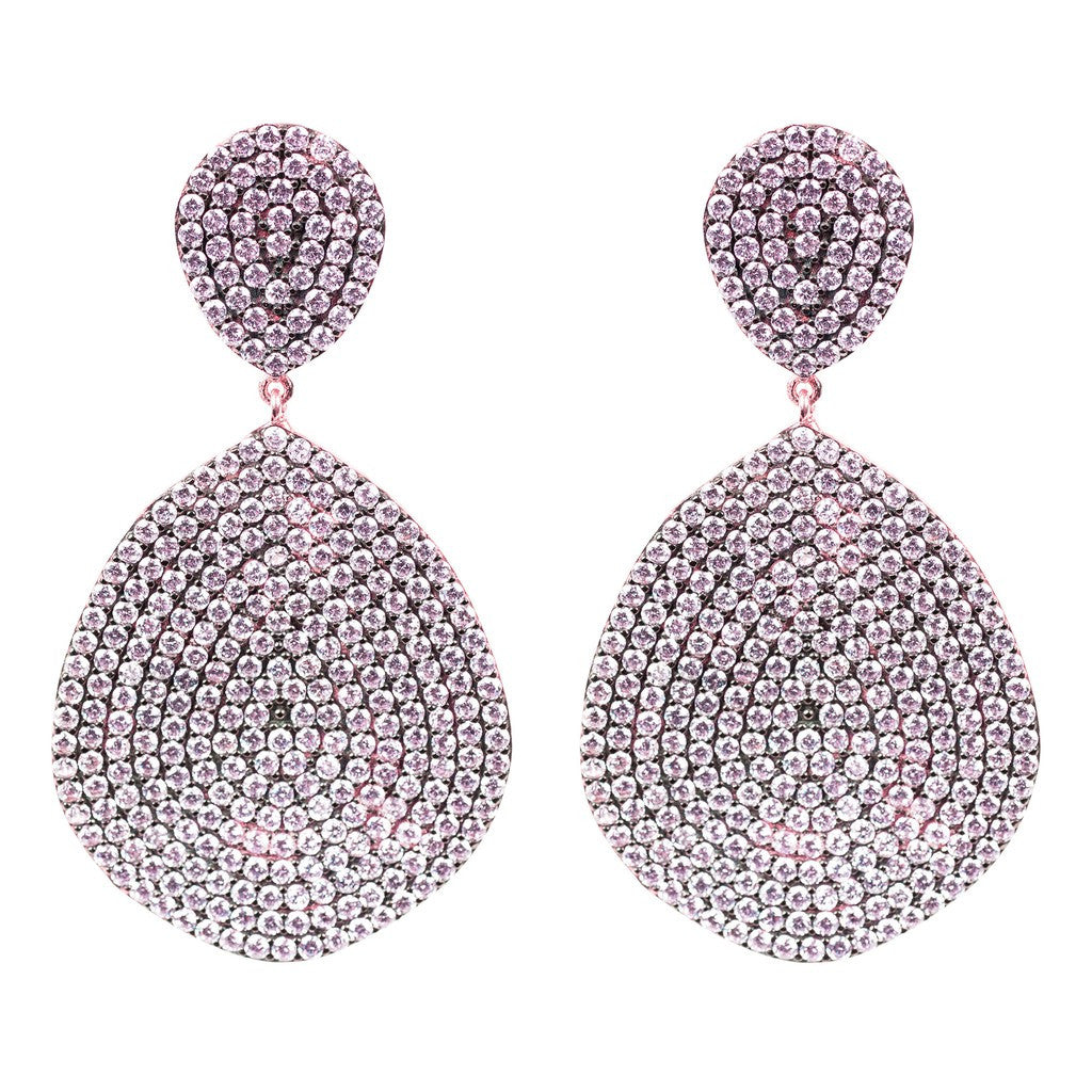 Monte Carlo Earring Rosegold Light Pink - Stylemindchic Boutique - Curated Collections - 4