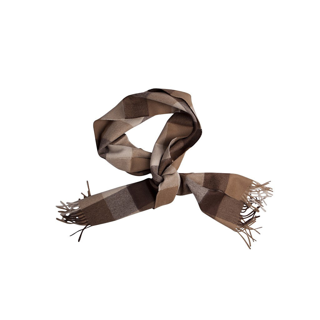 Paris Sepia Baby Alpaca Scarf - Stylemindchic Boutique - Curated Collections - 3