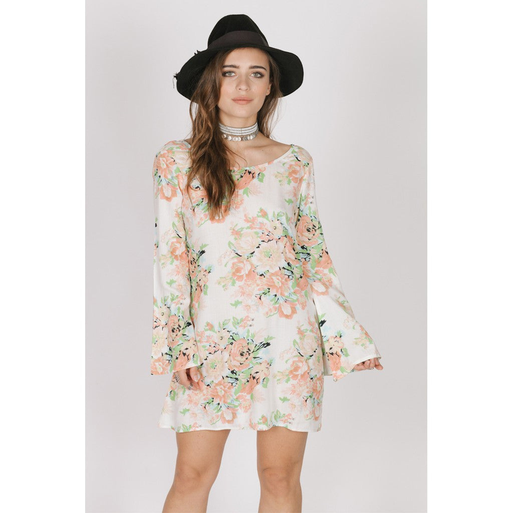 GARDEN PARTY TUNIC DRESS - Stylemindchic Boutique - Curated Collections - 1