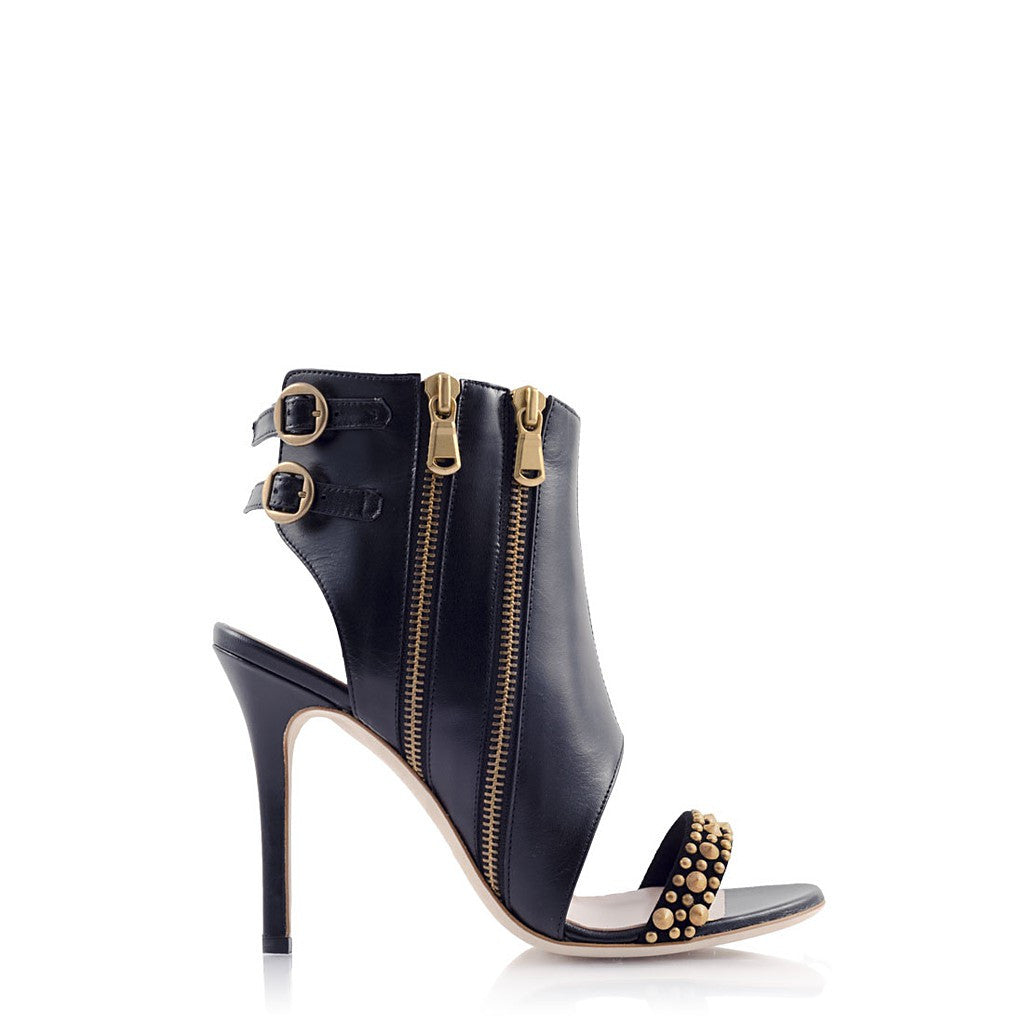 AMAZON Leather Cut-out Bootie - Stylemindchic Boutique - Curated Collections  - 1