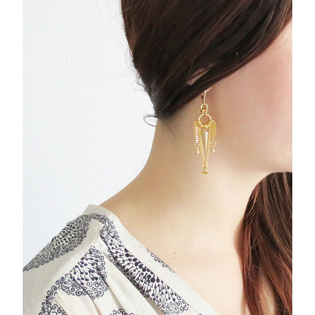 Oralie earrings - Stylemindchic Boutique - Curated Collections - 4
