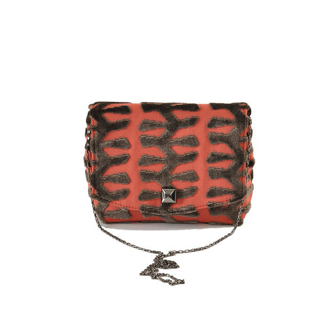 Totem Coral square clutch - Stylemindchic Boutique - Curated Collections - 1