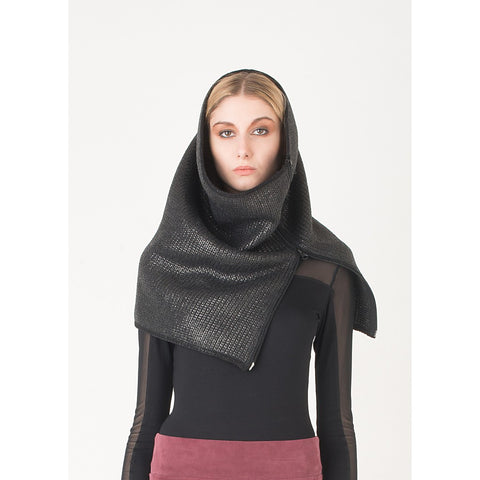 Coated wool snood - Stylemindchic Boutique - Curated Collections - 1