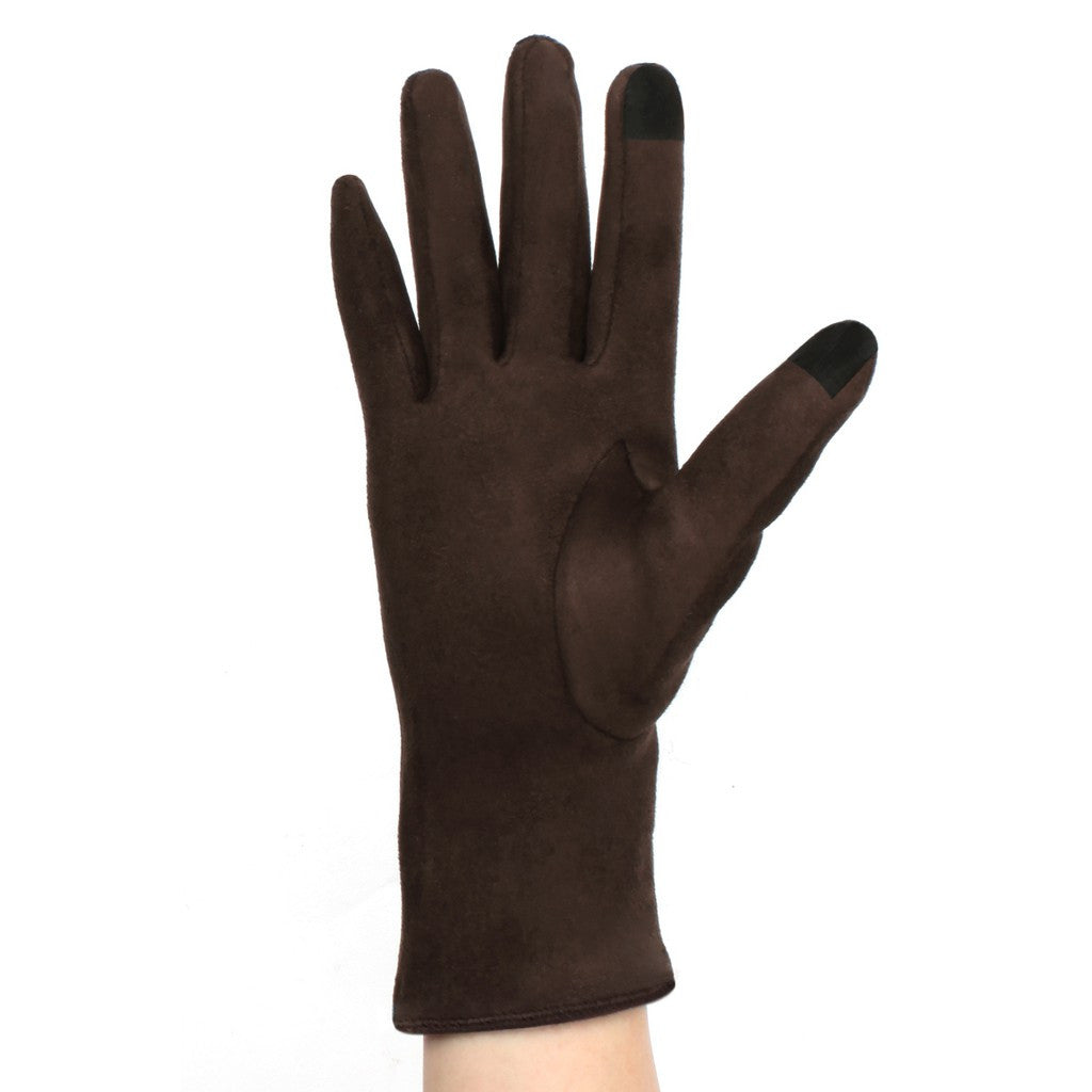 Womens Lined Texting Gloves with Bow - Stylemindchic Boutique - Curated Collections - 4