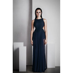 'Ophelia' Full Length Dress - French Navy - Stylemindchic Boutique - Curated Collections - 1