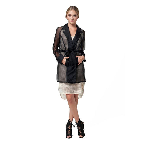 De Sheer Trench - Stylemindchic Boutique - Curated Collections - 1