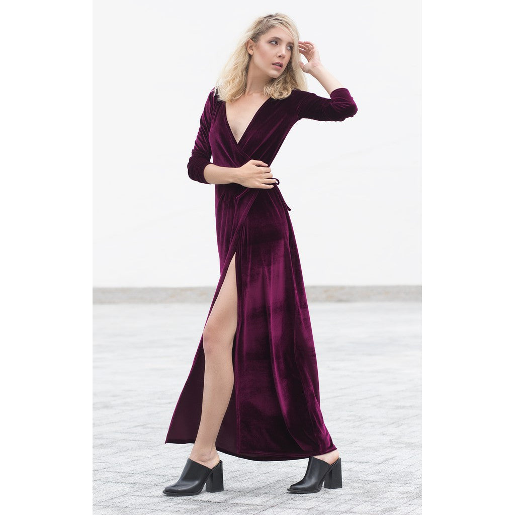 Velvet shirt dress - Stylemindchic Boutique - Curated Collections - 2