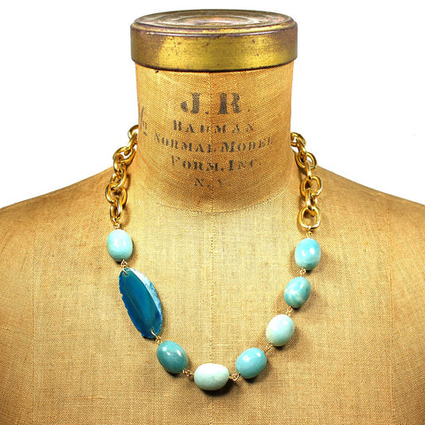 """Melia"" Summer Noon Necklace by Manic Trout"