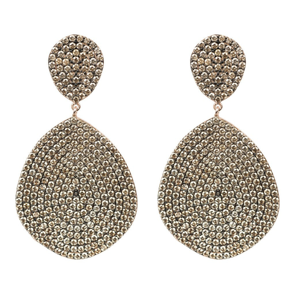 Monte Carlo Earring Rosegold Champagne - Stylemindchic Boutique - Curated Collections - 1