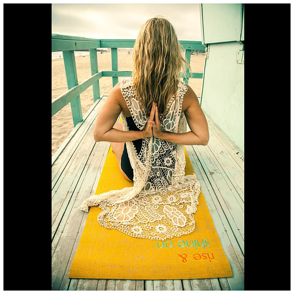 rise & shine on XLong yoga mat - Stylemindchic Boutique - Curated Collections - 4
