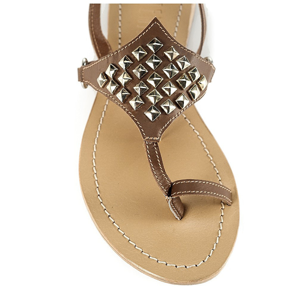 Amazon Brown Sandal by Artemisia - Italy
