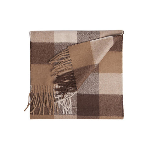 Paris Sepia Baby Alpaca Scarf - Stylemindchic Boutique - Curated Collections - 1