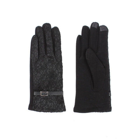 Womens Lace Touch Screen Gloves - Stylemindchic Boutique - Curated Collections - 1