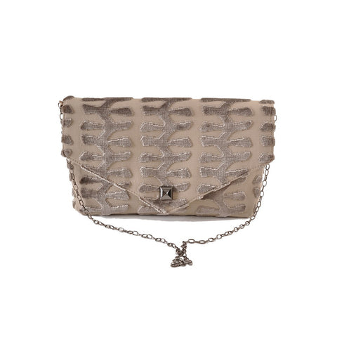 Totem Taupe envelope clutch - Stylemindchic Boutique - Curated Collections - 1