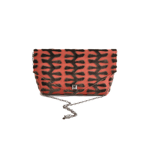 Totem Coral envelope clutch - Stylemindchic Boutique - Curated Collections - 1
