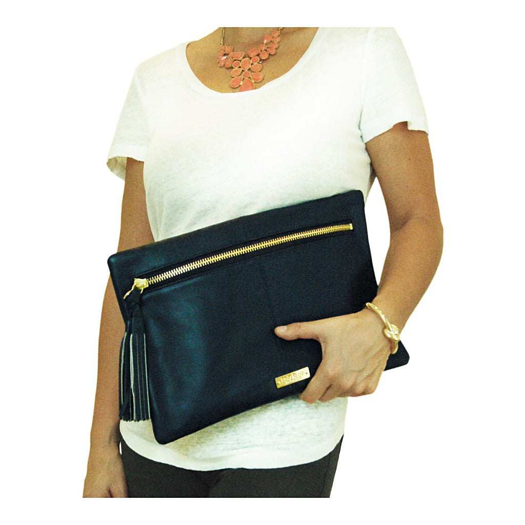 Stella Clutch - Navy - Stylemindchic Boutique - Curated Collections - 2