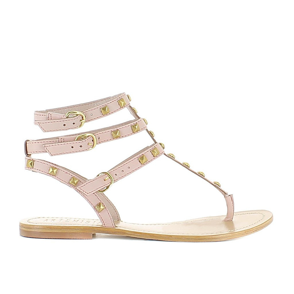 Persefone Pink Sandal by Artemisia - Made in Italy