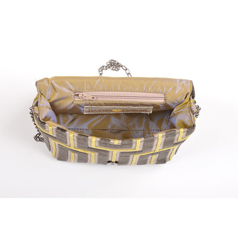 Maze Grey square clutch - Stylemindchic Boutique - Curated Collections - 2