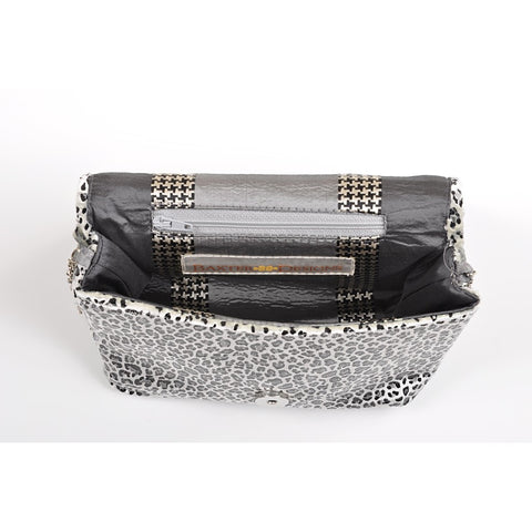 Leopard Silver square clutch - Stylemindchic Boutique - Curated Collections - 2