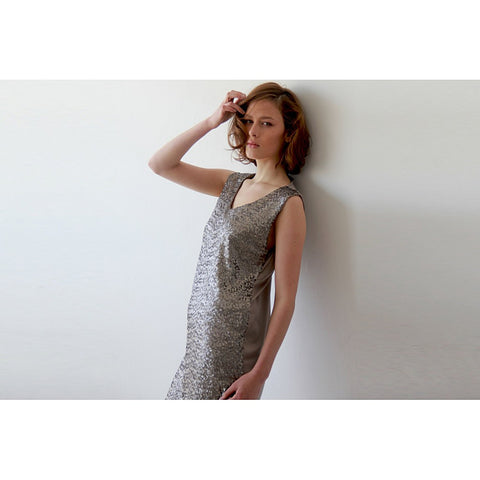 Glam Silver sequins mini dress - Stylemindchic Boutique - Curated Collections - 1