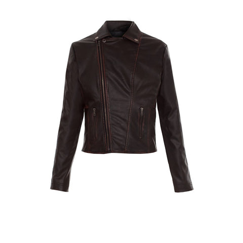 Diane Faux Leather Moto - Stylemindchic Boutique - Curated Collections - 2