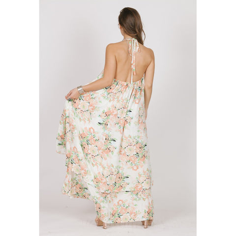 GARDEN PARTY HALTER MAXI - Stylemindchic Boutique - Curated Collections - 2