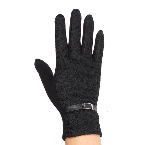 Womens Lace Touch Screen Gloves - Stylemindchic Boutique - Curated Collections - 2