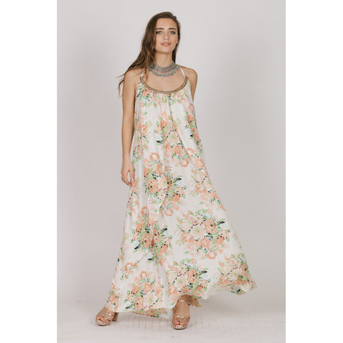 GARDEN PARTY HALTER MAXI - Stylemindchic Boutique - Curated Collections - 1