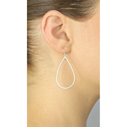 Silver Morning Dew Hoops - Stylemindchic Boutique - Curated Collections - 2