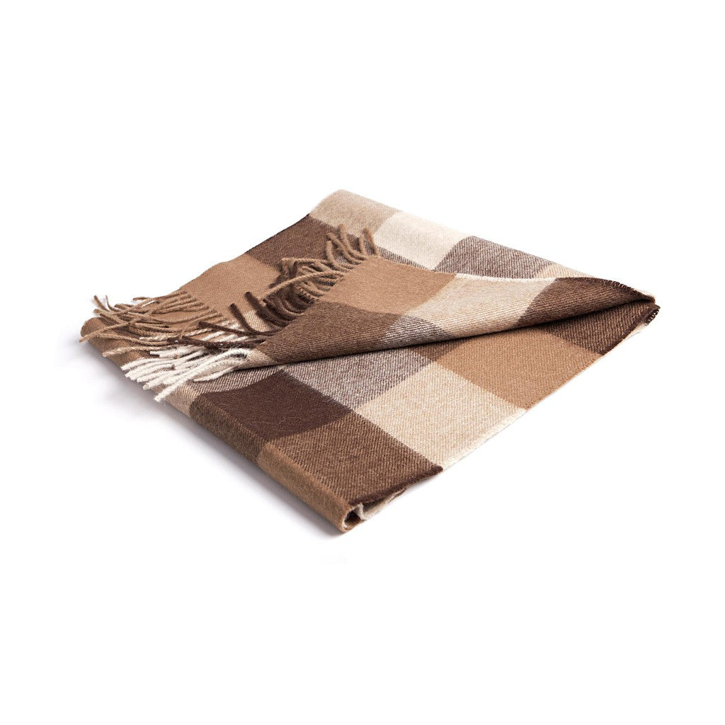 Paris Sepia Baby Alpaca Scarf - Stylemindchic Boutique - Curated Collections - 2
