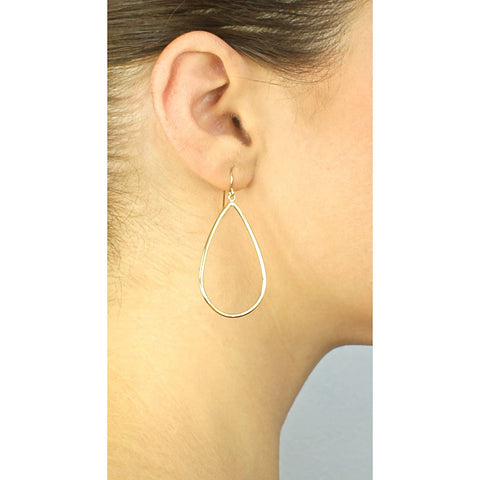 Gold Morning Dew Hoops - Stylemindchic Boutique - Curated Collections - 2