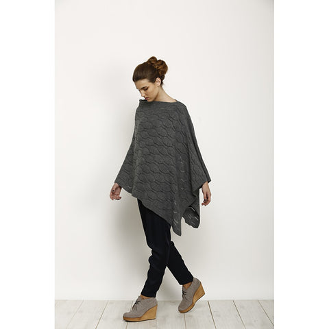 Knit Poncho by Andy Ve Eirn