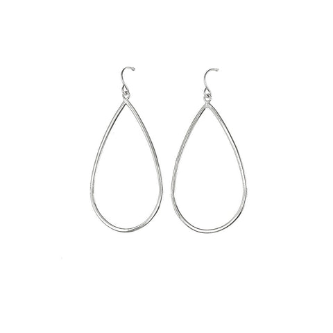 Silver Morning Dew Hoops - Stylemindchic Boutique - Curated Collections - 1
