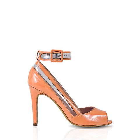 NOULA PVC Stripe Ankle Strap Pump - Stylemindchic Boutique - Curated Collections  - 1