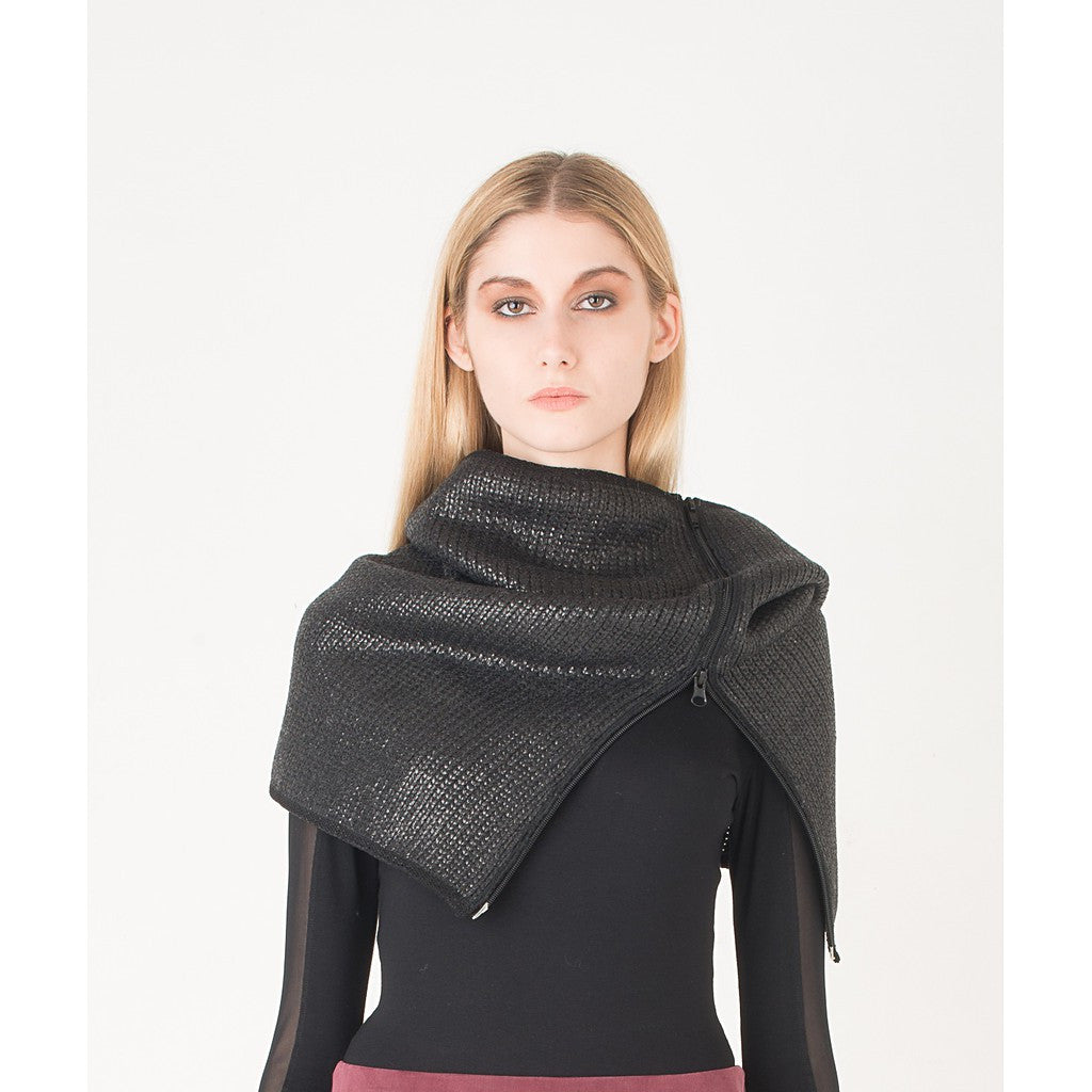 Coated wool snood - Stylemindchic Boutique - Curated Collections - 2