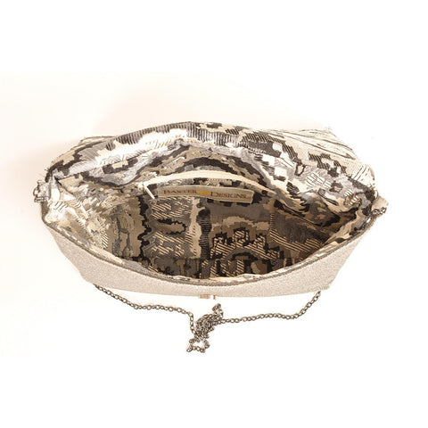 Mist Silver clutch - Stylemindchic Boutique - Curated Collections - 2