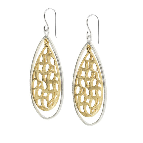 Nina earrings gold