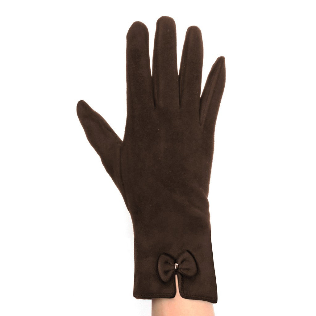 Womens Lined Texting Gloves with Bow - Stylemindchic Boutique - Curated Collections - 5
