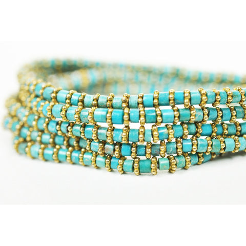 Turquoise Wrap Bracelet - Stylemindchic Boutique - Curated Collections - 2
