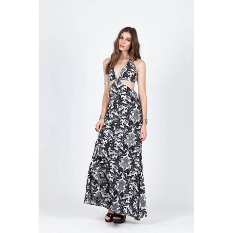 BLACKBIRD CUTOUT MAXI - Stylemindchic Boutique - Curated Collections - 2