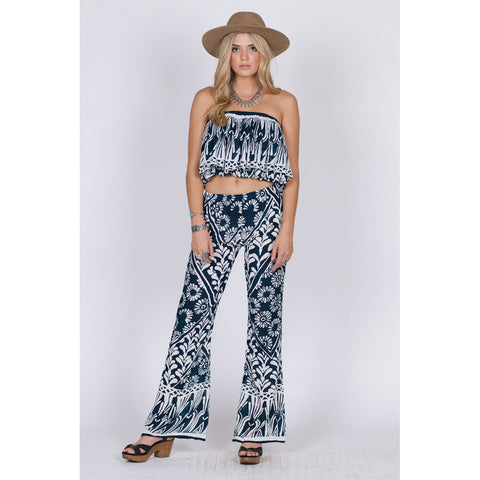 TROPIC BLUES CROP - Stylemindchic Boutique - Curated Collections - 2