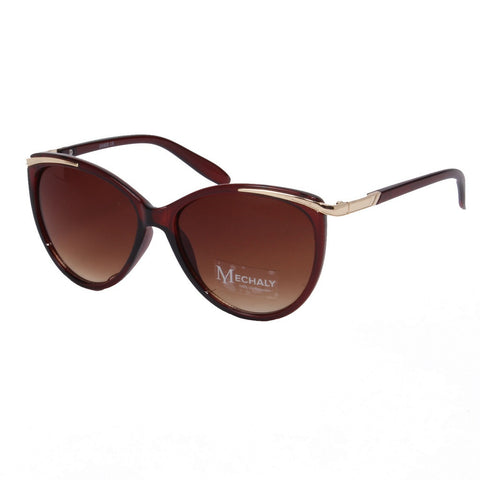 Mechaly Cat Eye Style Brown Sunglasses - Stylemindchic Boutique - Curated Collections