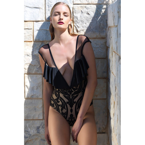 Anastasia Ruffle One Piece