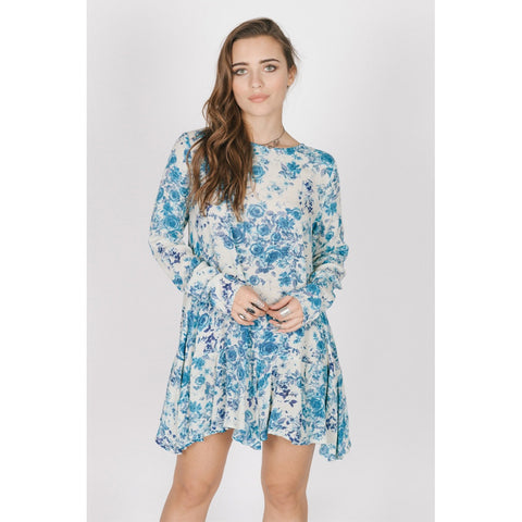 BLUE ROSE DRESS - Stylemindchic Boutique - Curated Collections - 1