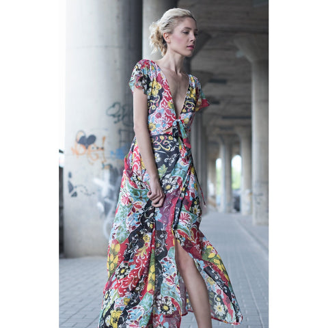 Floral print maxi dress - Stylemindchic Boutique - Curated Collections - 1