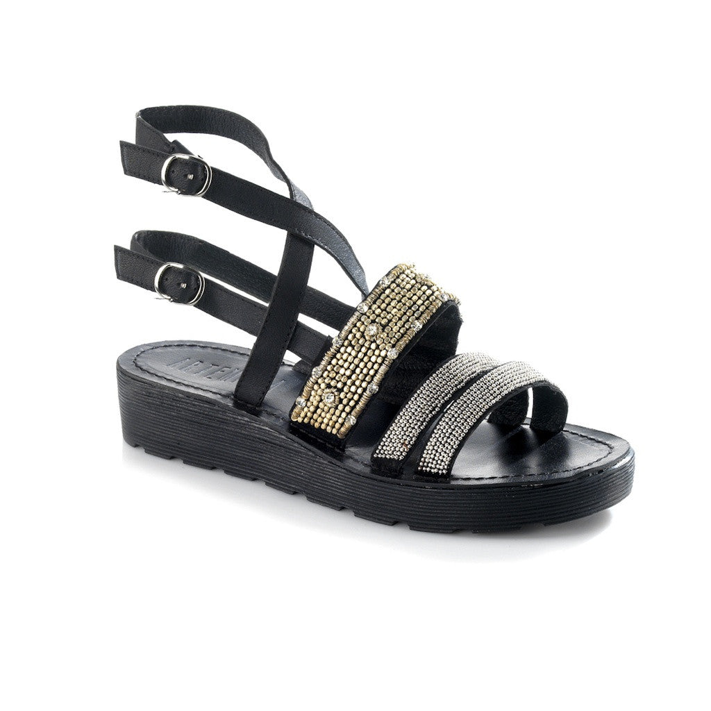 Arianna Black Sandal - Stylemindchic Boutique - Curated Collections - 1
