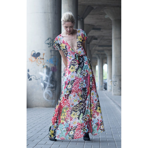 Floral print maxi dress - Stylemindchic Boutique - Curated Collections - 2